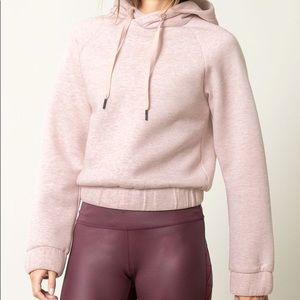 MPG Chamber crop hoodie
